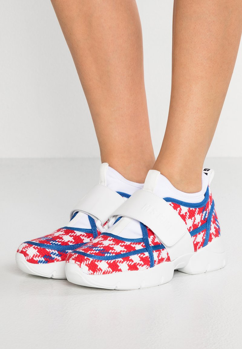 MSGM - Trainers - red/blue/white