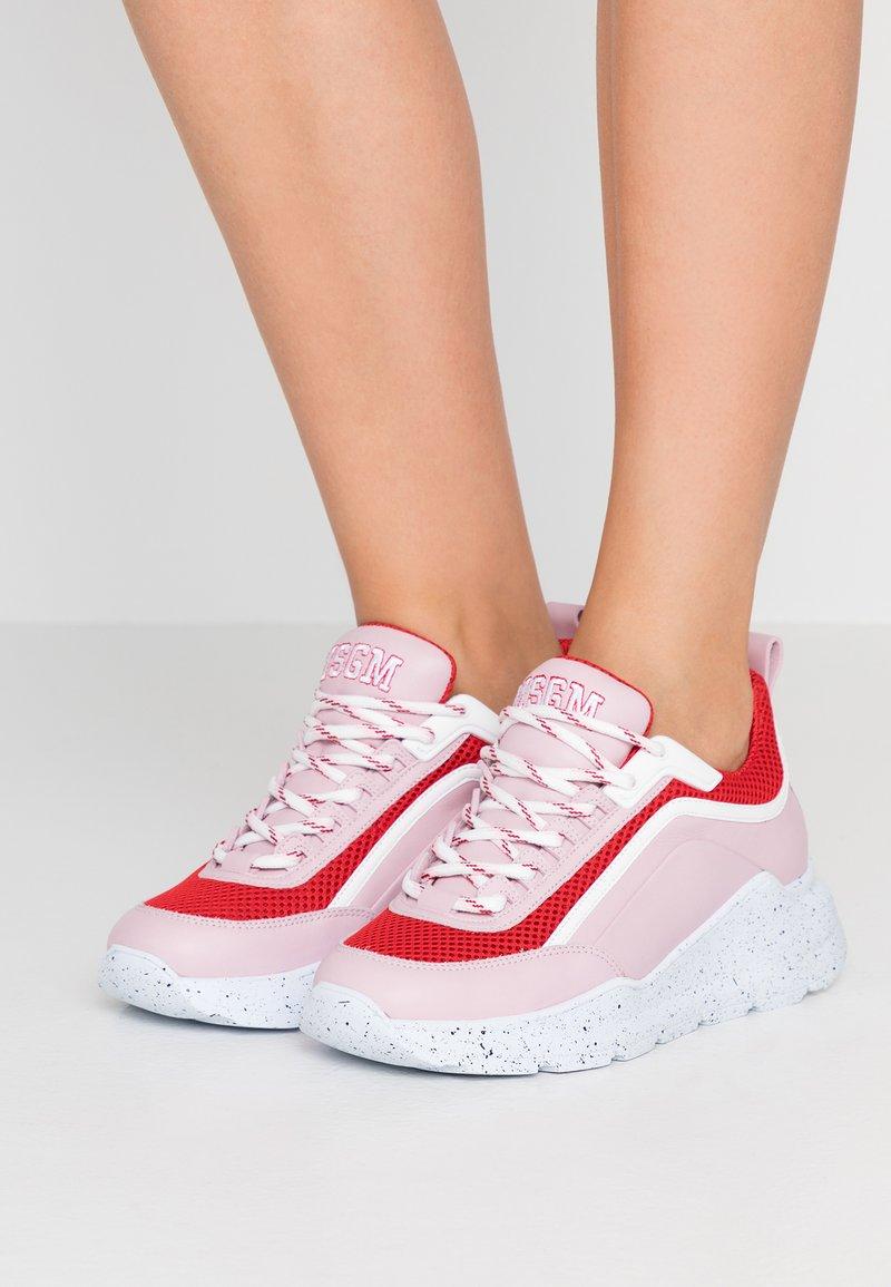 MSGM - RUNNING - Sneaker low - pink