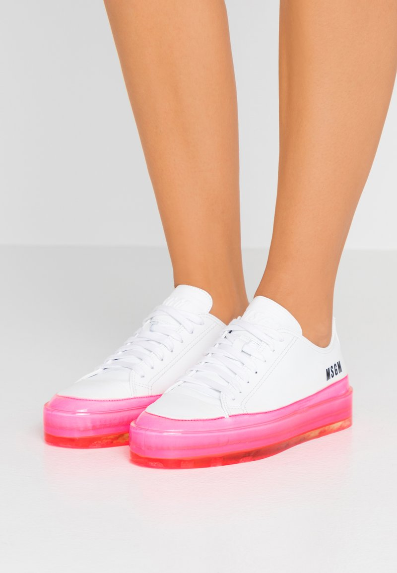MSGM - FLOATING  - Sneakers laag - fuchsia