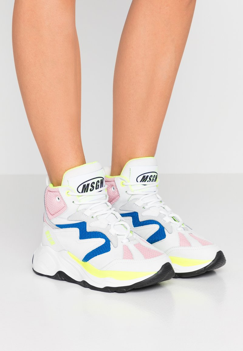 MSGM - ATTACK HI-TOP - High-top trainers - offwhite