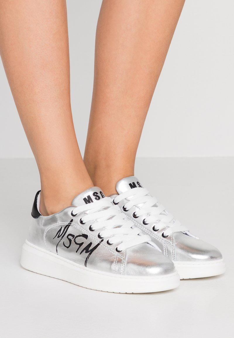 MSGM - Sneakers laag - silver