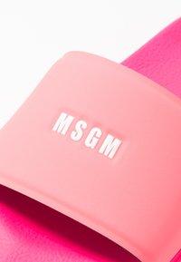 MSGM - CIABATTA DONNA WOMANS SLIDE - Sandaler - neon fuchsia - 2