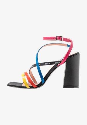 DONNA WOMANS - High Heel Sandalette - multicolor/black