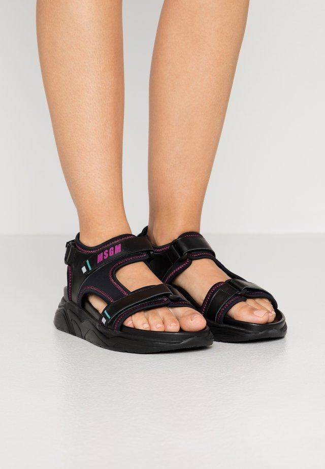DONNA  - Sandaler - black