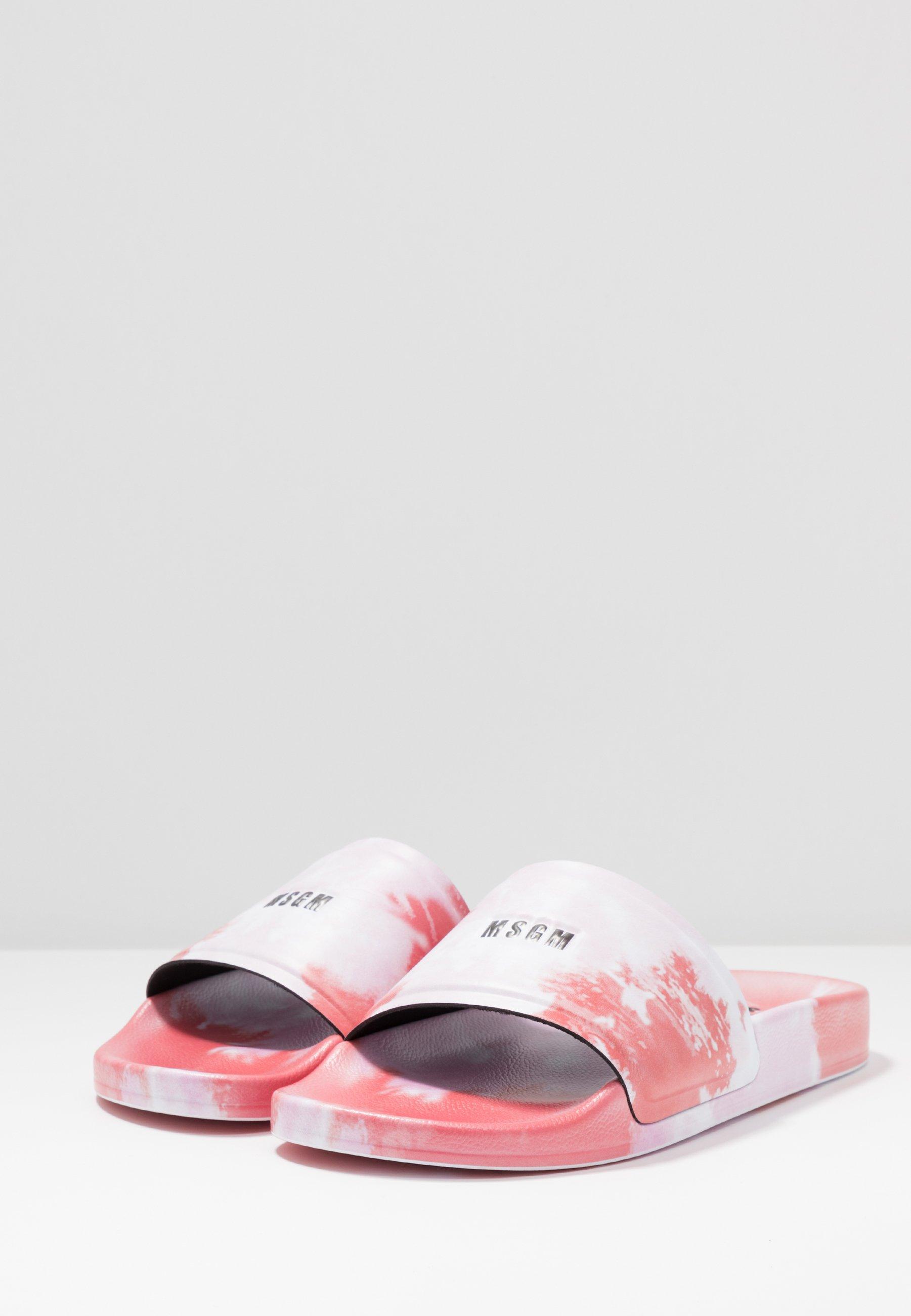 MSGM CIABATTA DONNA WOMANS SLIDE - Slip-ins - red/pink
