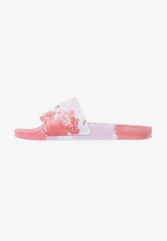 CIABATTA DONNA WOMANS SLIDE - Sandaler - red/pink