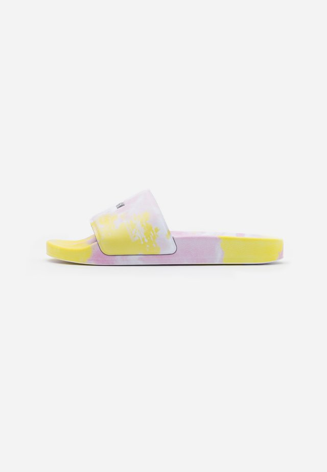 CIABATTA DONNA WOMANS SLIDE - Sandaler - pink/yellow