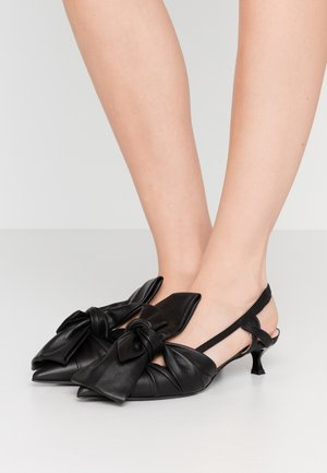 SCARPA DONNA WOMAN`S SHOES - Classic heels - black