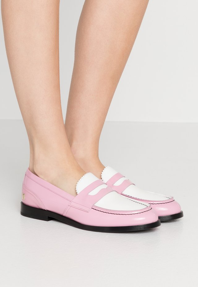 SCARPA DONNA WOMANS SHOES - Slip-ons - pink