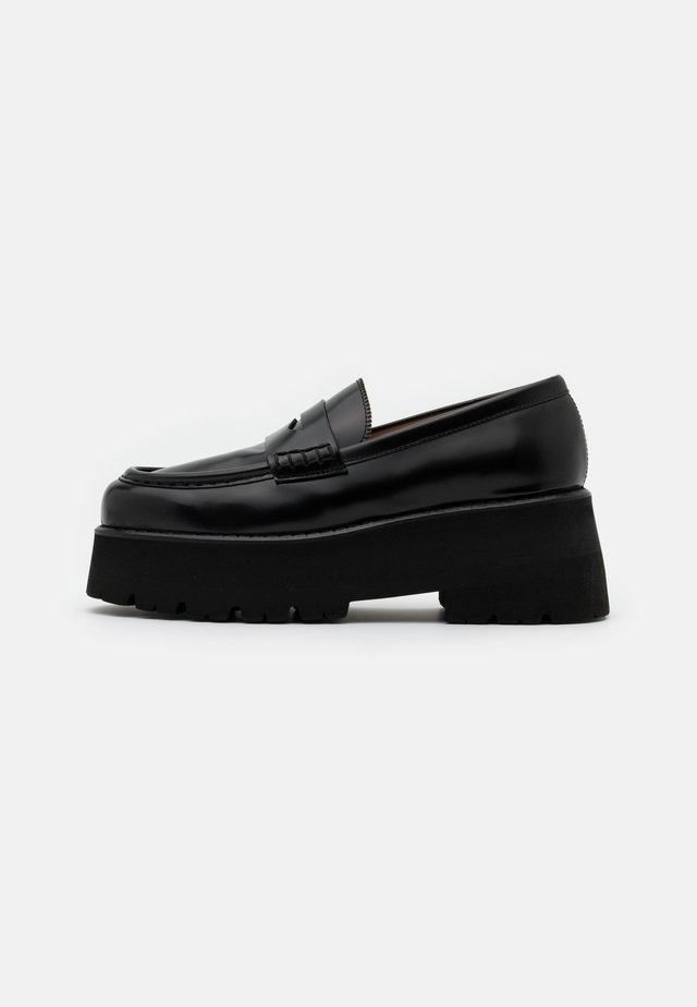 SCARPA DONNA WOMANS SHOES - Loafers - black