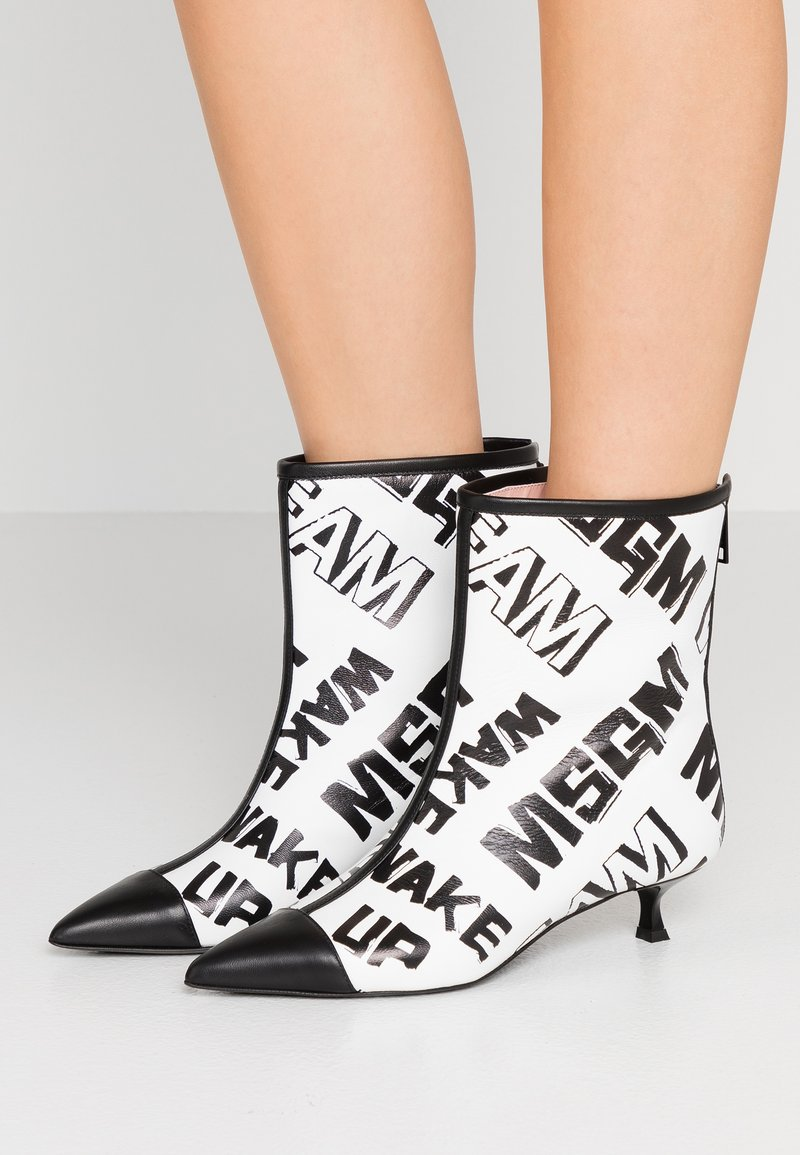 MSGM - Classic ankle boots - white
