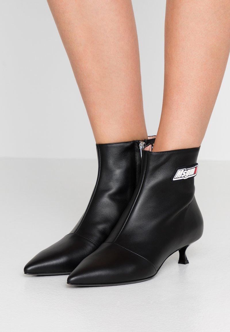 MSGM - Kotníkové boty - black