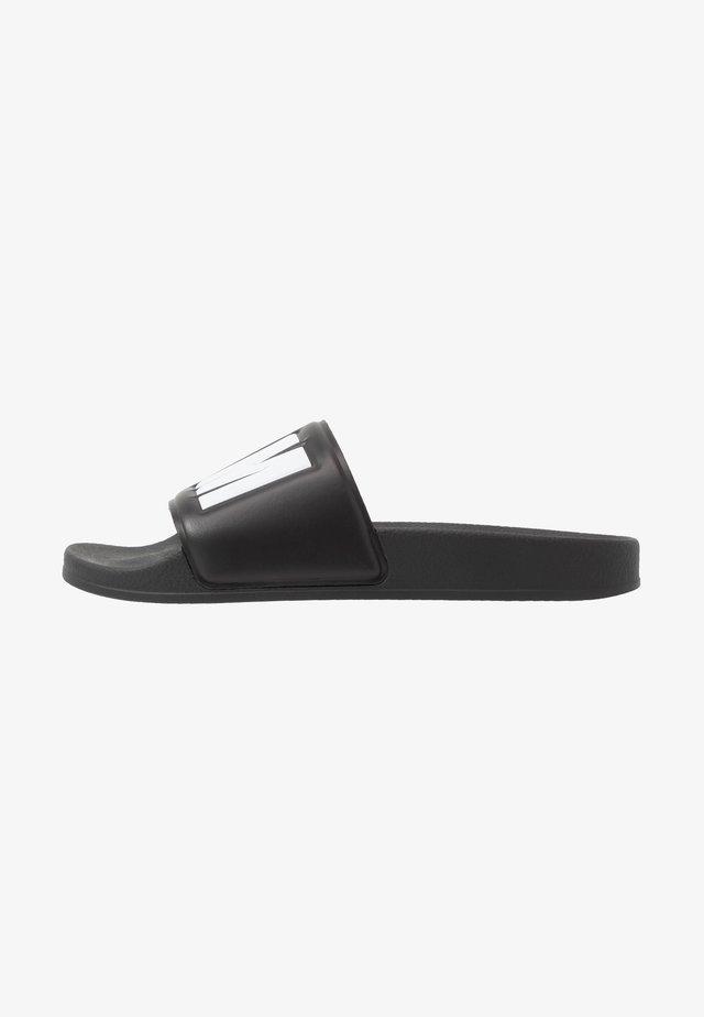 Pantolette flach - black