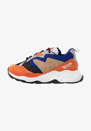 Trainers - blue/orange
