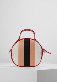MSGM - TAMBOURINE BAG - Schoudertas - pink/red/white/black - 2
