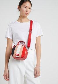 MSGM - TAMBOURINE BAG - Schoudertas - pink/red/white/black - 1