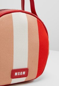 MSGM - TAMBOURINE BAG - Schoudertas - pink/red/white/black - 6