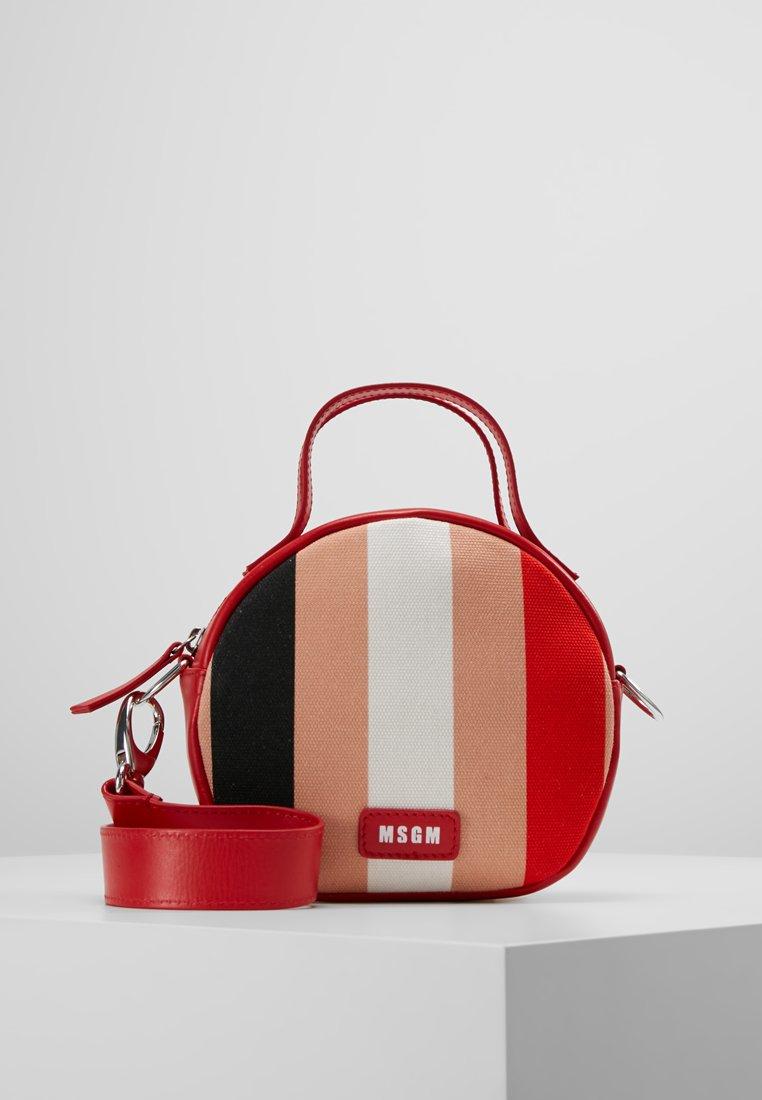 MSGM - TAMBOURINE BAG - Schoudertas - pink/red/white/black