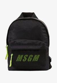 MSGM - ZAINO MINI BACKPACK - Batoh - black - 5
