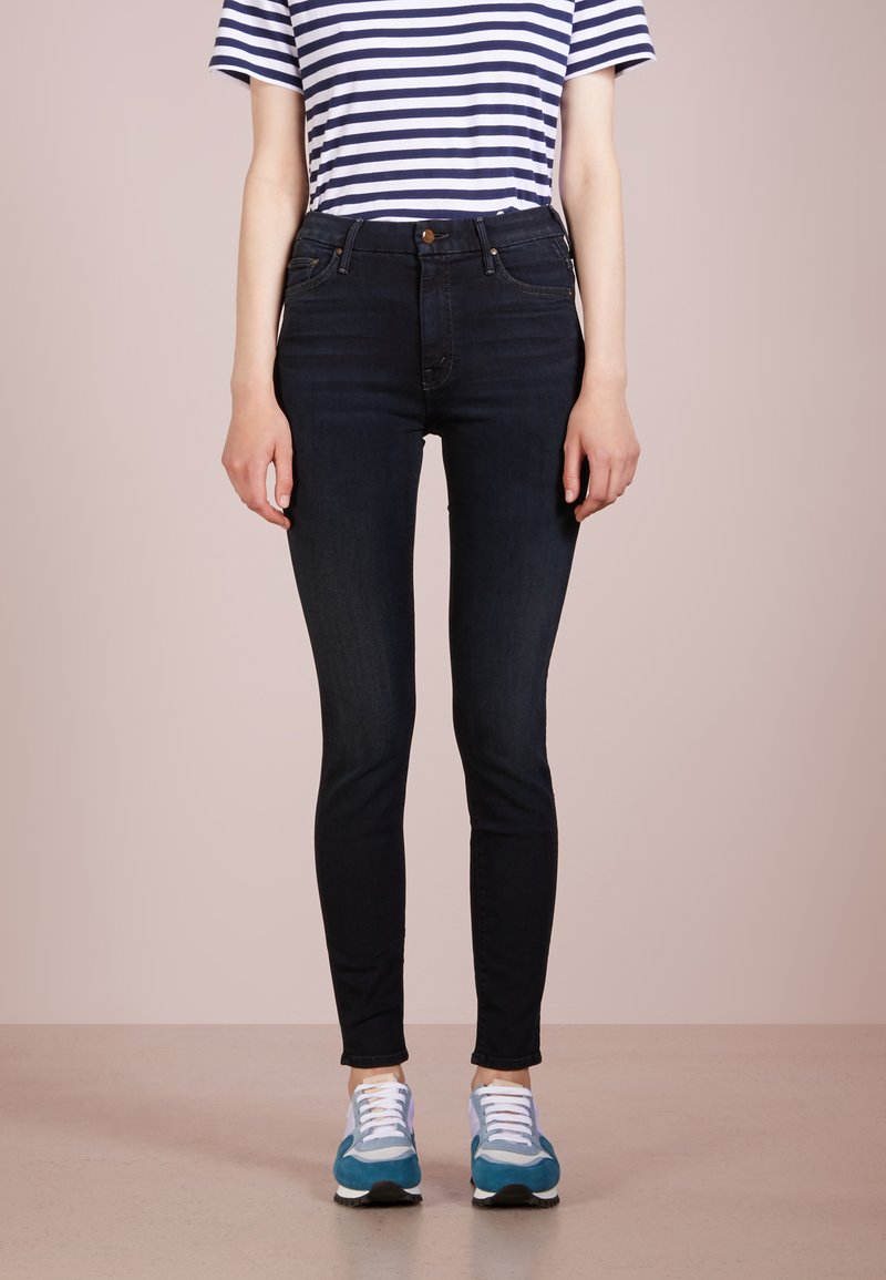 Mother - LOOKER - Jeansy Skinny Fit - blue denim