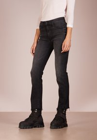 Mother - RASCAL ANKLE SNIPLET - Jean droit - night - 0