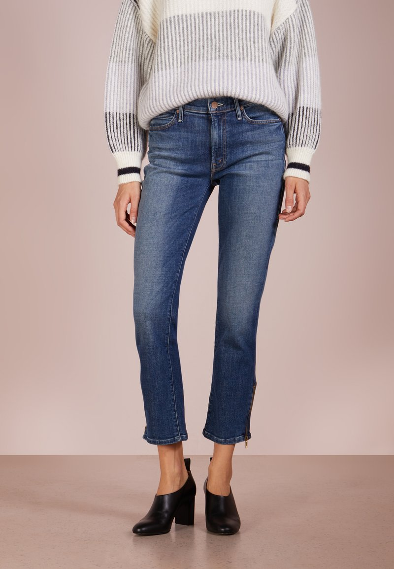 Mother - RASCAL ANKLE ZIP - Jeans a sigaretta - cant leave it alone