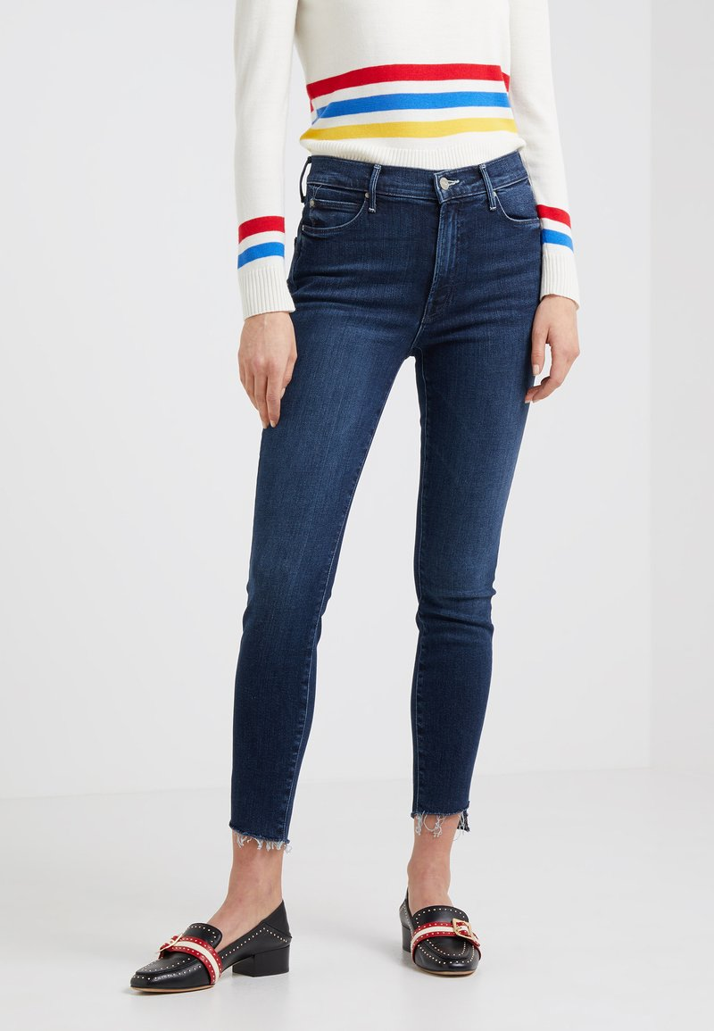 Mother - THE STUNNER ZIP ANKLE STEP FRAY - Jeans Skinny Fit - disco dolls