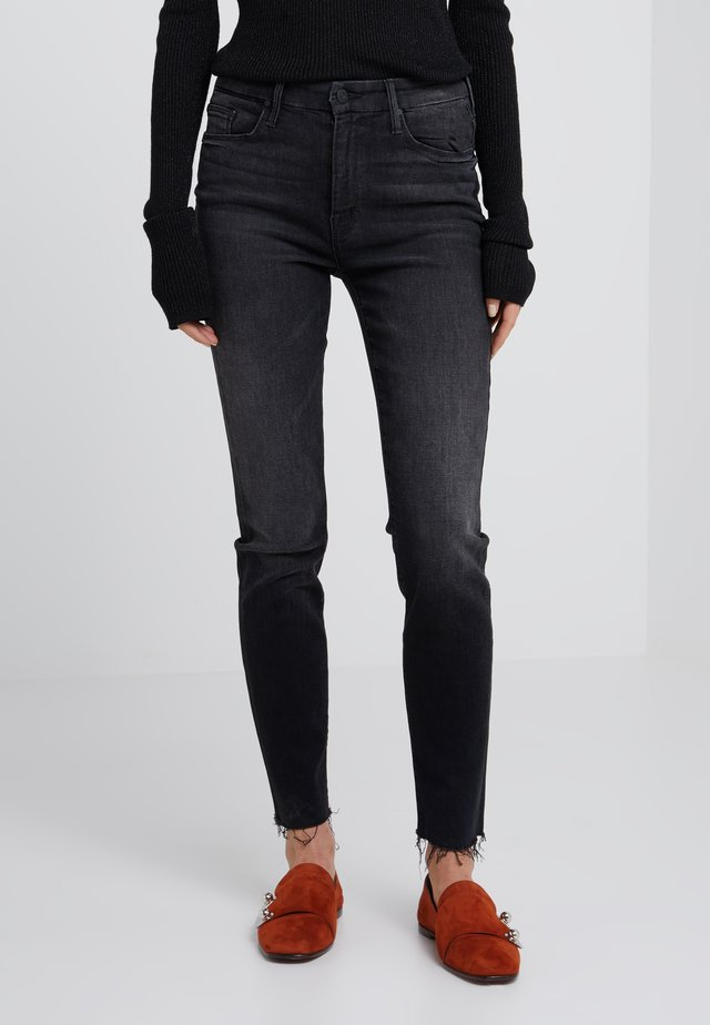 LOOKER ANKLE FRAY  - Jeansy Skinny Fit - blue/grey