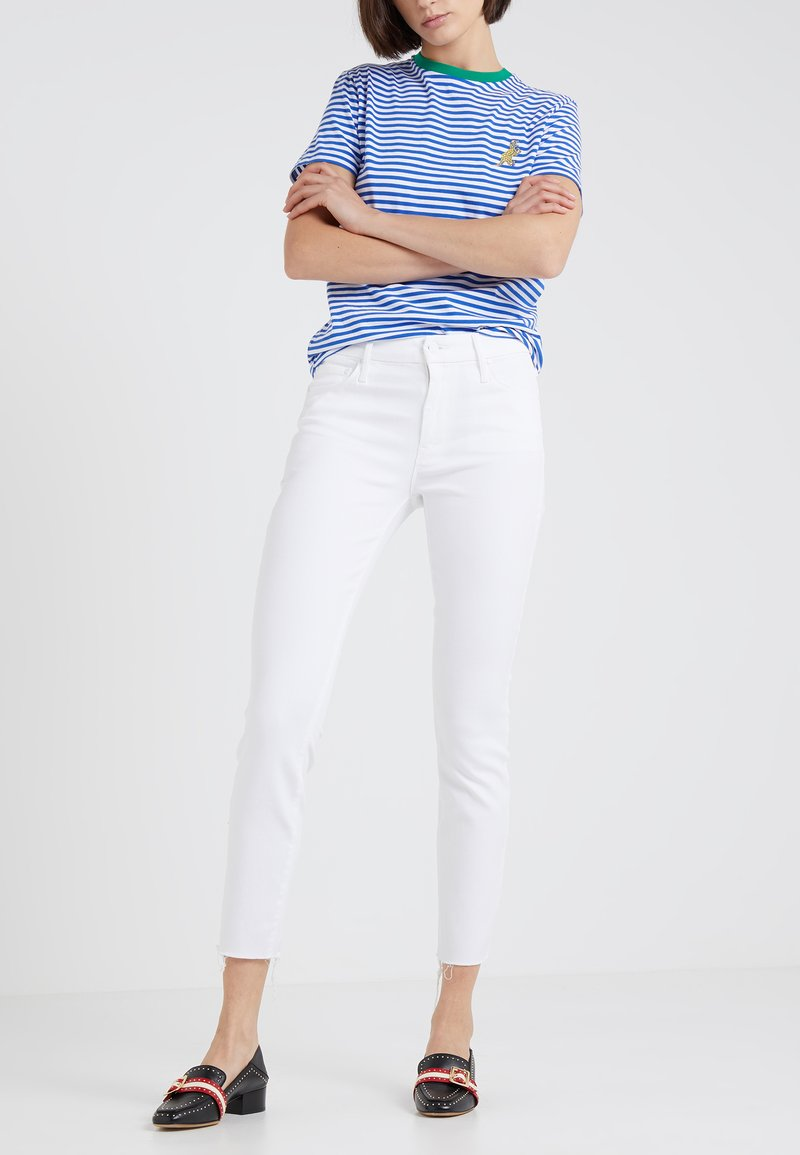 Mother - LOOKER ANKLE FRAY ANKLE - Jeans Skinny Fit - glass slipper