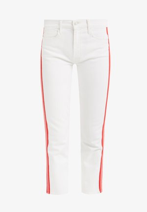 THE MID RISE DAZZLER CROP - Slim fit jeans - wipping cream/pink
