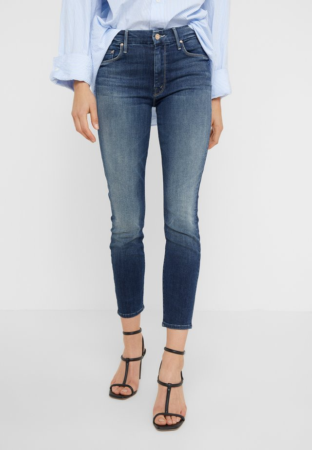 THE LOOKER CROP - Jeans Skinny Fit - on the edge