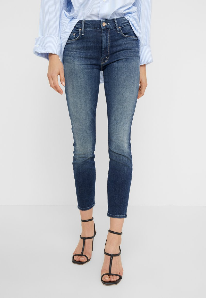 Mother - THE LOOKER CROP - Jeans Skinny Fit - on the edge