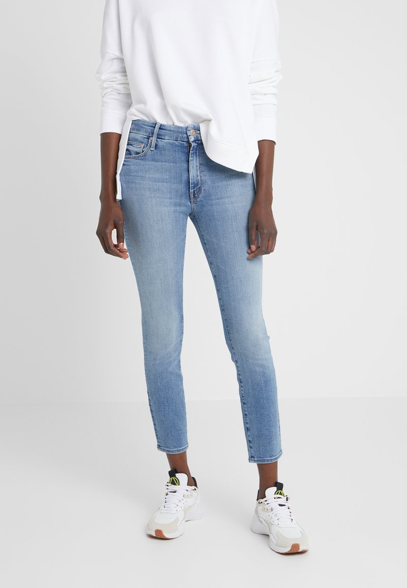 Mother - THE LOOKER CROP - Jeans Skinny Fit - a side of rice&beans