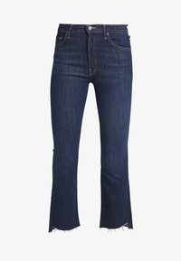 Mother - INSIDER CROP STEP FRAY  - Jeans bootcut - clean sweep - 4