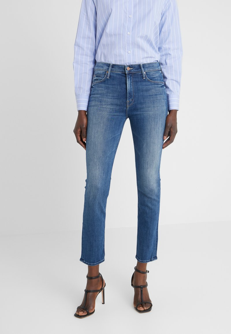 Mother - THE MID RISE DAZZLER ANKLE - Jeans Slim Fit - home before dawn