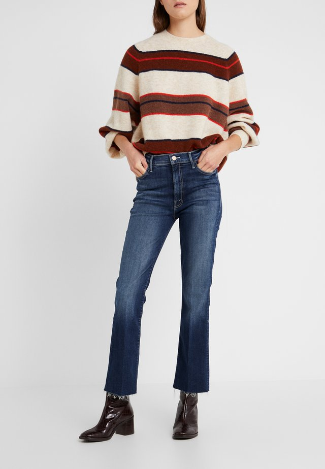 THE HUSTLER ANKLE FRAY  - Jeans Skinny Fit - on the edge