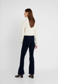 Mother - THE WEEKENDER FRAY JEAN - Relaxed fit jeans - navy - 2