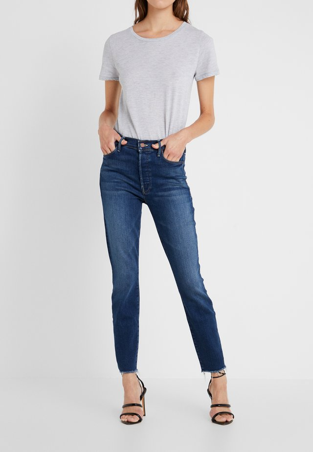 THE STUNNER ANKLE FRAY  - Jeans straight leg - sweet/sassy