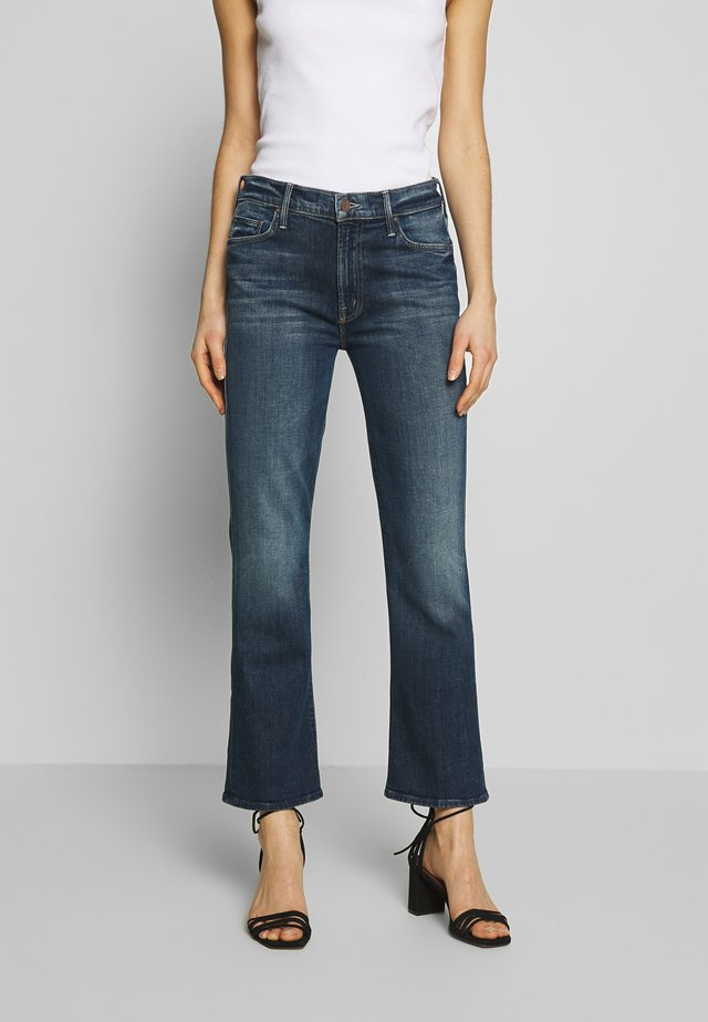 THE OUTSIDER ANKLE - Jeansy Skinny Fit - blue denim