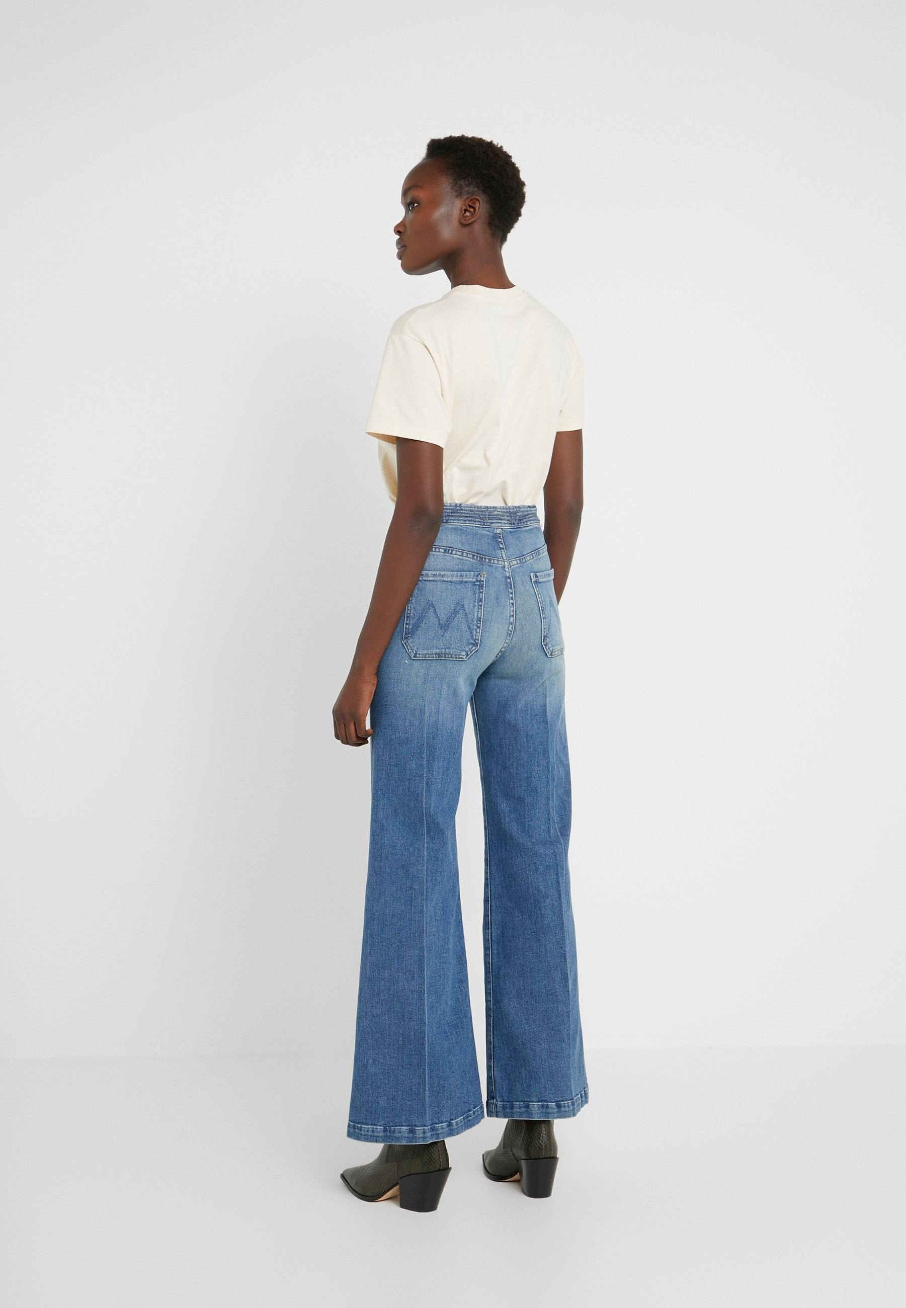 Mother The Tie Patch Roller - Jeans Relaxed Fit Popism