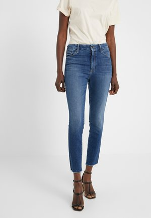 THE HIGH WAISTED LOOKER ANKLE FRAY SKINNY - Jeans Skinny - night clubbing