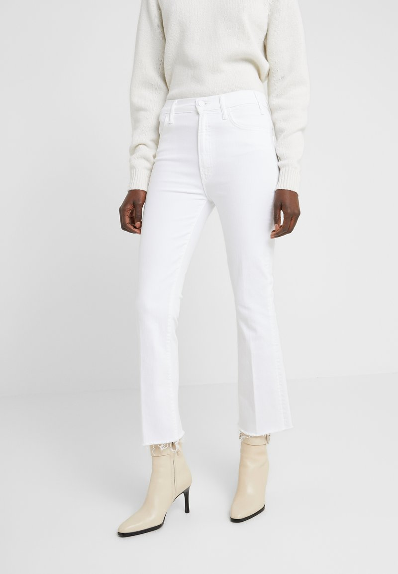Mother - THE HUSTLER ANKLE FRAY JEAN - Jean flare - fairest of them all