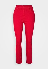 Mother - THE DAZZLER ANKLE - Straight leg jeans - mars red - 0