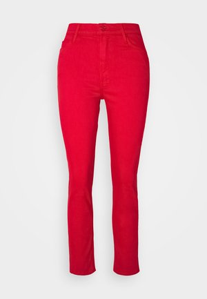 THE DAZZLER ANKLE - Jeans straight leg - mars red