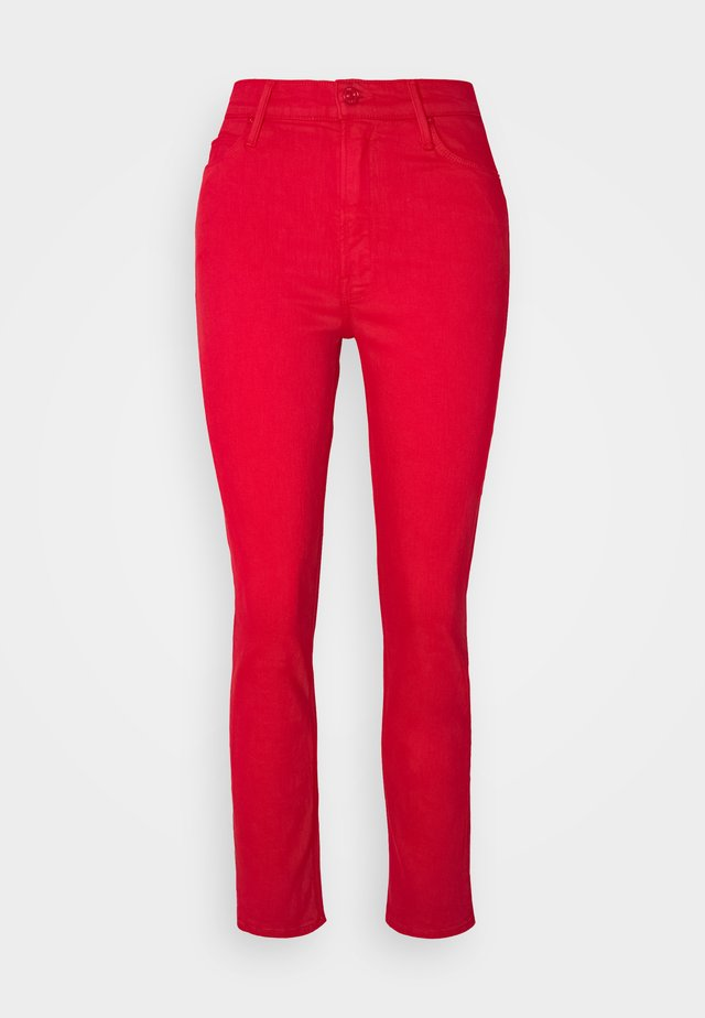 THE DAZZLER ANKLE - Straight leg jeans - mars red