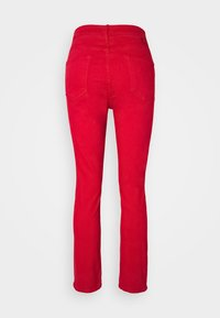 Mother - THE DAZZLER ANKLE - Straight leg jeans - mars red - 1