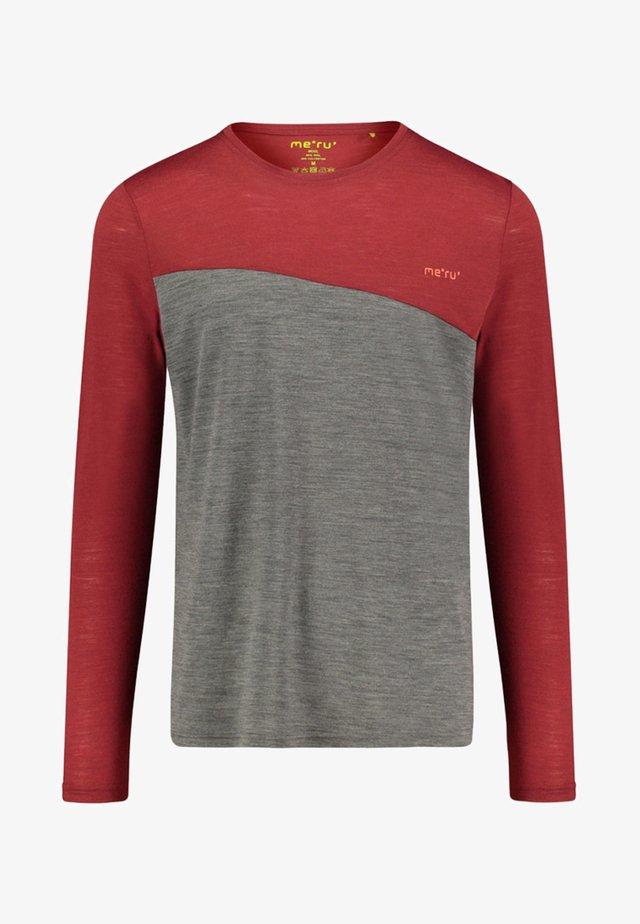 FAUSKE LANGARM - Long sleeved top - bordeaux