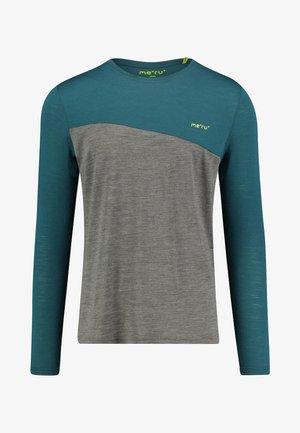 FAUSKE LANGARM - Long sleeved top - dark green