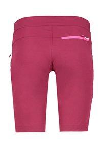 Meru - PORTO - Sports shorts - plum - 1