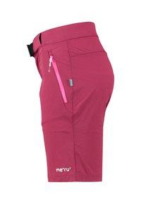 Meru - PORTO - Sports shorts - plum - 2